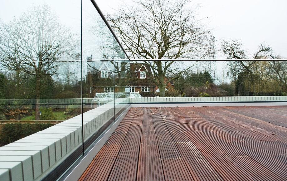 Roof Terrace Balustrades Railing London